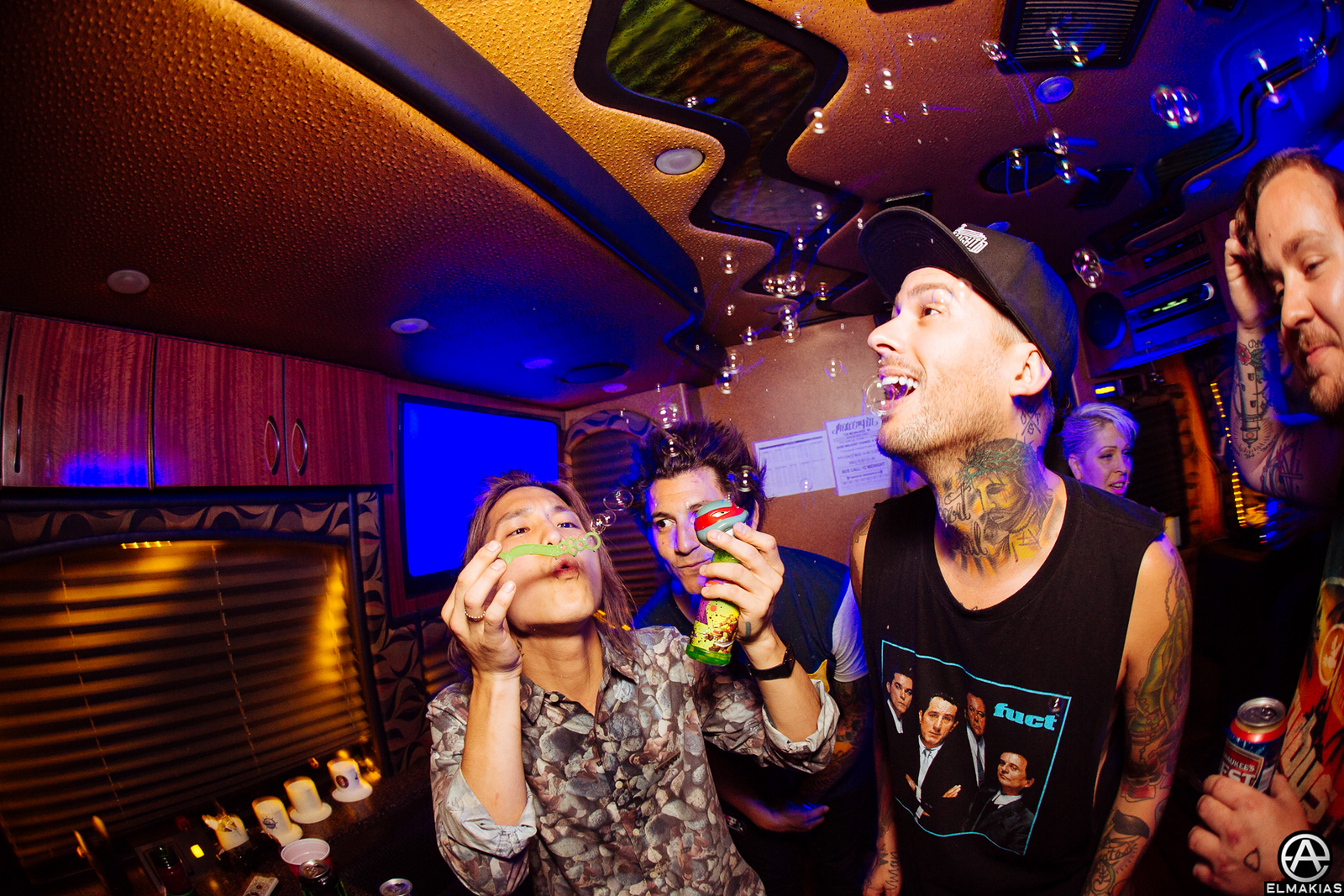 Pierce the Veil at Warped Tour 2015 by Adam Elmakias