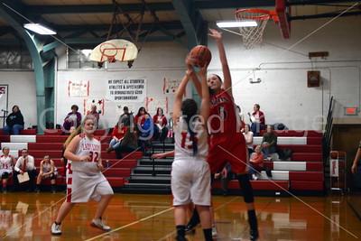 La Moille-Ohio Girls Basketball Senior Nigh And Game, Jan. 30, 2017