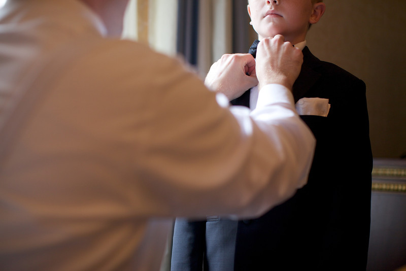 Le Cape Weddings - Chicago Cultural Center Weddings - Kaylin and John - 06 Groom and Groomsmen Getting Ready 21