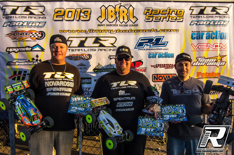 Electric 8th 1st Mike Truhe, 2nd Adam Drake, 3rd Daniel Lewis