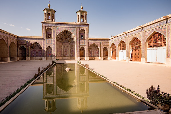 Den Lyserøde Moske i Shiraz
