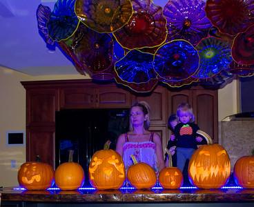 Halloween Pumpkin Carving 2016