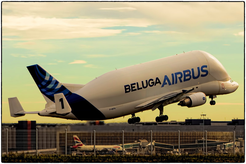 Beluga No. 1 Departs Toulouse