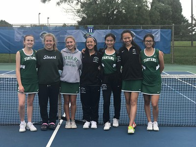 Tennis at Mercer County Tournament