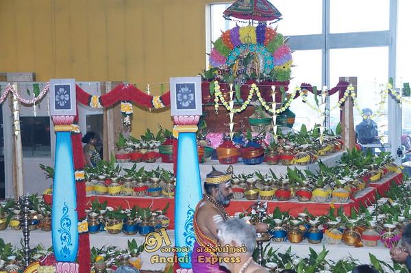 Canada Sri Ayyappan Hindu Temple Toronto,Canada  1008 Kalasa Shanga Abishegam