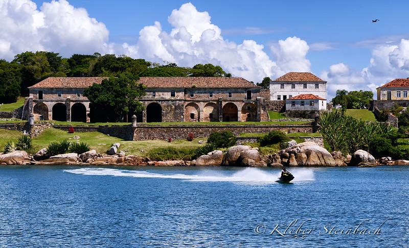 Ilha de Anhatomirim, Florianópolis, Brasil