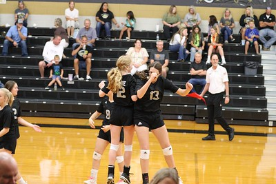 Lady Bulldogs at Whitewright, 9/21/2021