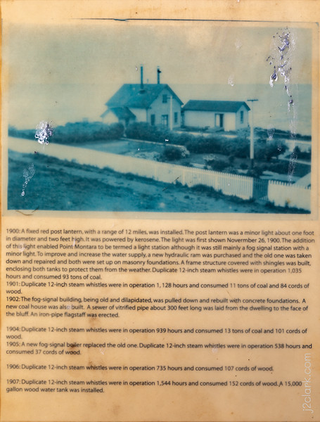 Montara Lighthouse History - Panel 5