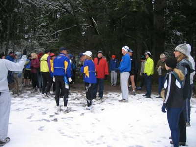 2005 New Year's Day Memorial Run - Another group shot
