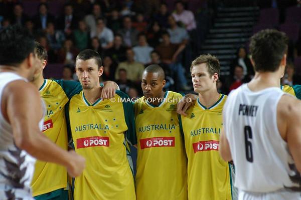 Australian Boomers Vs. New Zealand Tall Blacks - August 22 2007