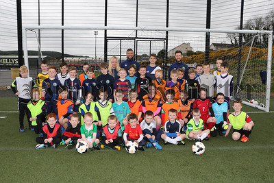 WARRENPOINT TOWN FC EASTER CAMP FOR 5 -1 0 YEARS OLD