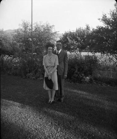 Fred E & Josephine Wedding Picts