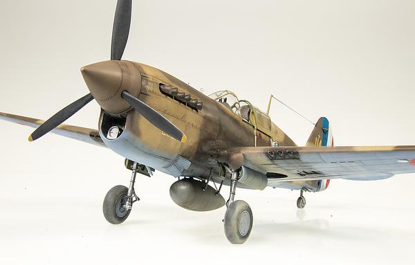 1/32 Trumpeter P-40F