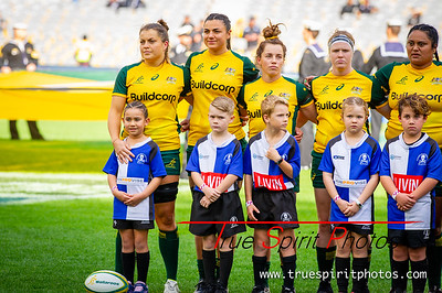 Buildcorp Wallaroos vs Black Ferns at Optus Stadium Perth 10.08.2019