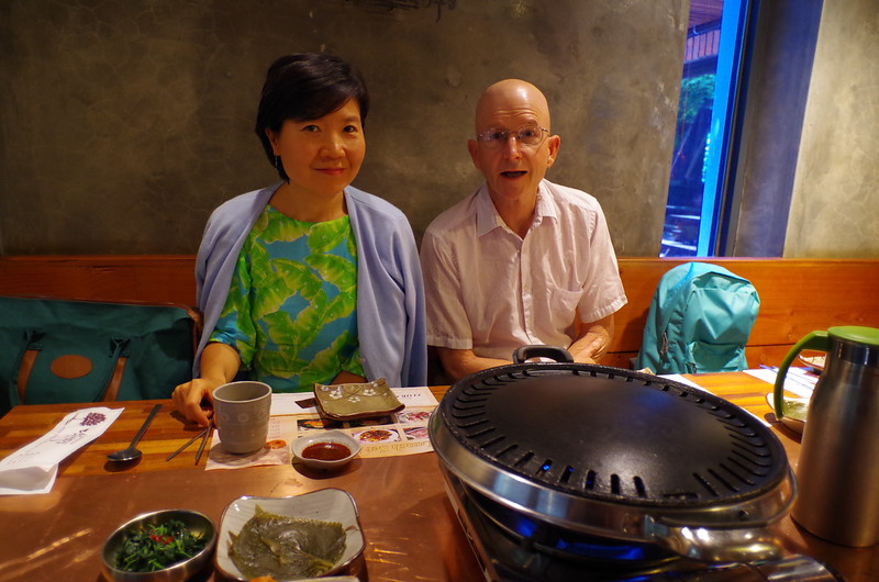 Lunch with Wenjing and Wayne Smith