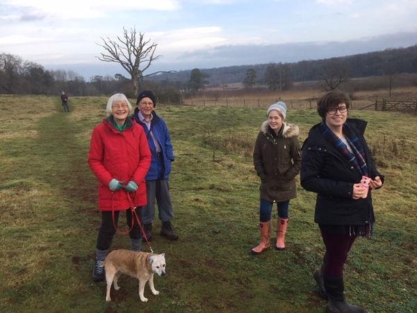 A Boxing day Walk