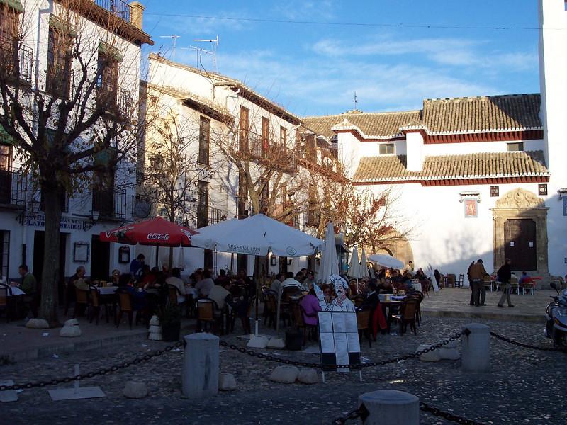 Granada. Plaza San Miguel Bajo
