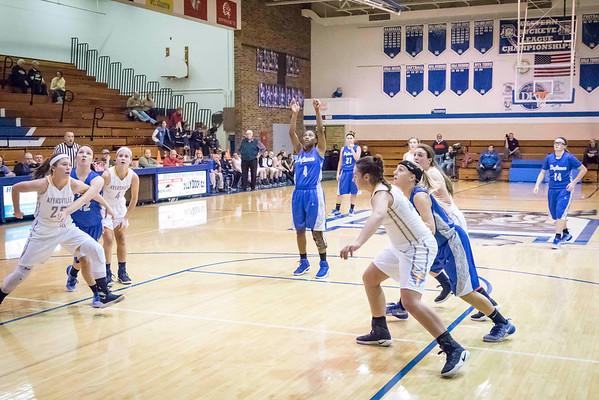 DHS Girls Basketball 12-13-2016