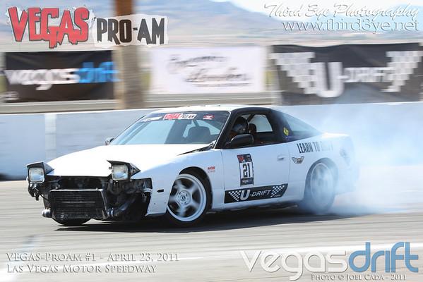 VegasDrift Pro-Am #1 4-23-2011