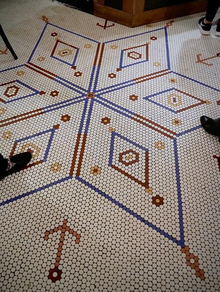 Black Seed Bagels floor