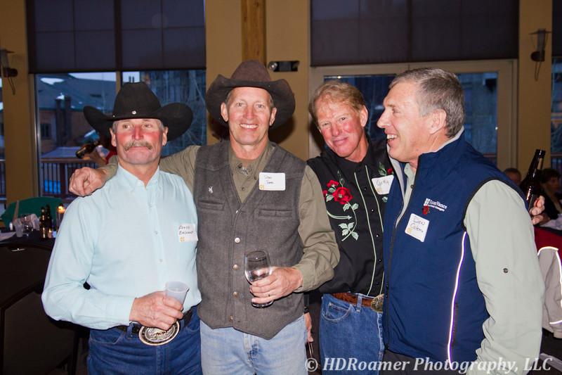 Floyd Bashant, Dean Jones, Corky McDonald, and Don Coleman