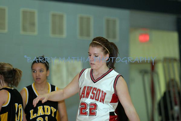 Lawson vs Lathrop Girls Varsity 08 plus Senior Night