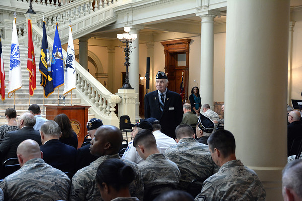 Memorial Service at Georgia State Capital 2013