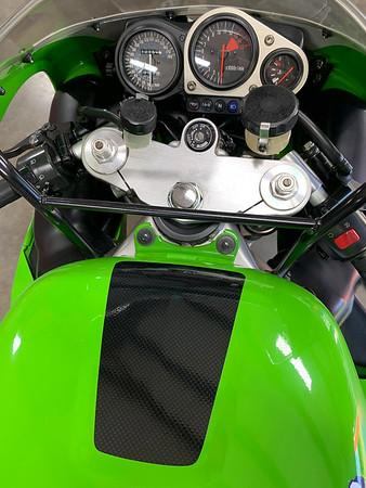 Kawasaki Ninja ZX-7R on Iconic Motorbike Auctions