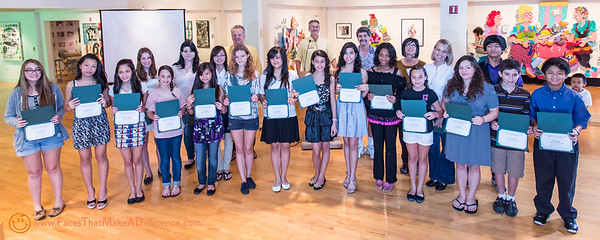 """""""Art in a Box"""" awards at the Coral Springs Art Museum"""