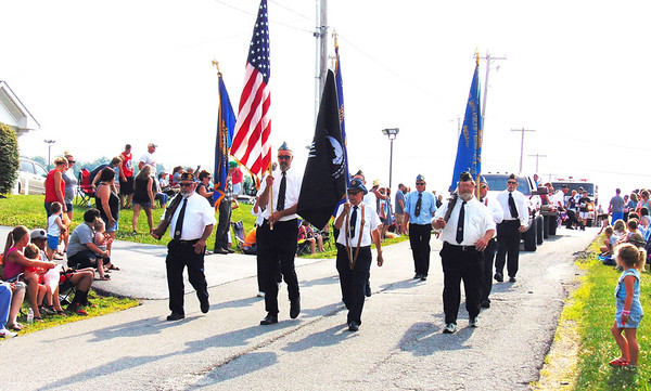 Milan Lions Club Fourth of July Parade 2017