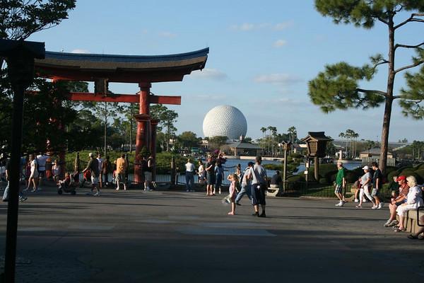 Epcot Center - Disneyworld 2008