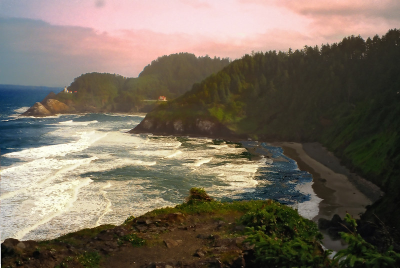 Oregon Coast Devil's Elbow