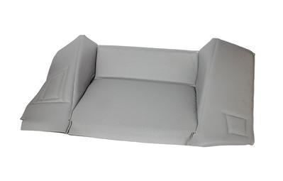 MASSEY FERGUSON 300 SERIES SILVER CAB INTERIOR BEHIND SEAT