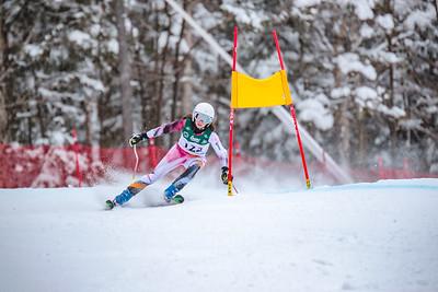 2018-03-08 Giant Slalom Girls Run #1