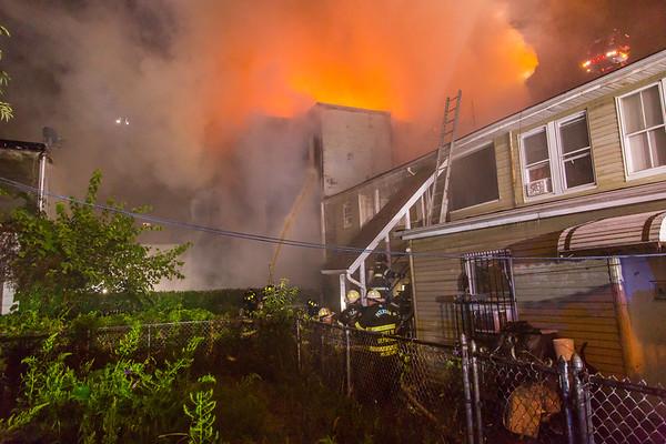Paterson NJ 4th alarm, 77 Mill St. 08-27-20