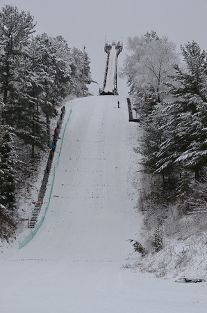 Northern Lights Tournament: Itasca Ski Club, Coleraine, MN (Dec 16, 2012)