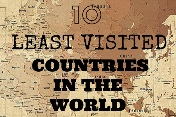 10 Least Visited Countries in the World