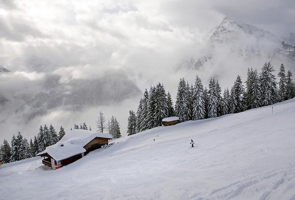 In the Alps, Austria