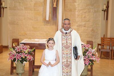 First  Holy Communion - May 1 2016 10am