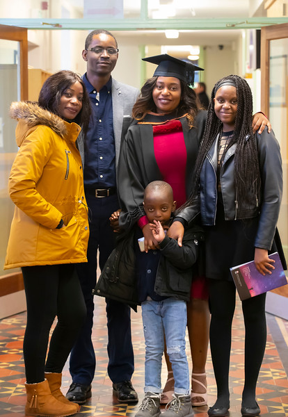 30/10/2019. Waterford Institute of Technology (WIT) Conferring Ceremonies is Kudzai Rutsito from Drogheda. Picture: Patrick Browne