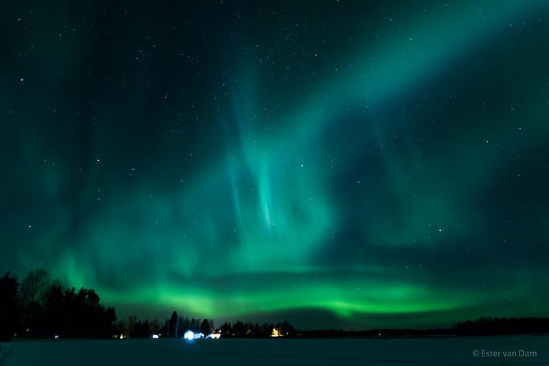 Northern Lights, Mieluskyla, 24.12.2016 VIII