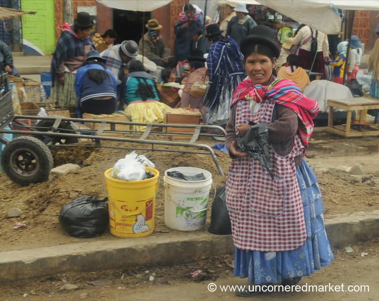 Woman in El Alto, Bolivia