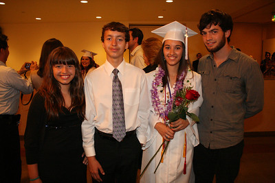 COMMENCEMENT @ CATHEDRAL OF OUR LADY OF THE ANGELS • 06.01.12