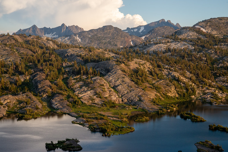 The fascinating geology around Thousand Island Lake in the Ansel Adams Wilderness.