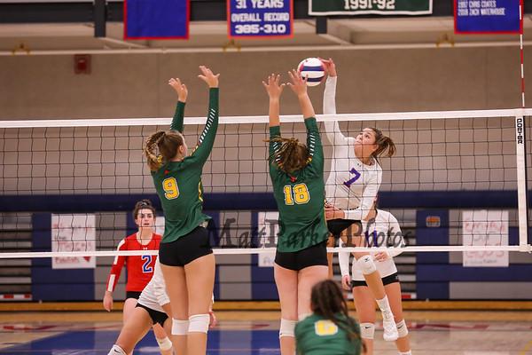 2019-10-31 WHS Girls Volleyball vs Bishop Guertin 1st Round Playoffs