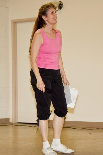 Michelle at the Doug Chin Clogging Classic, Orangevale.