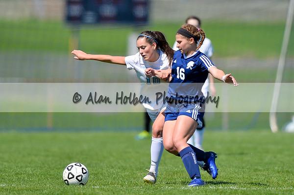 Ladies Varsity Soccer - East Lansing at Lansing Catholic