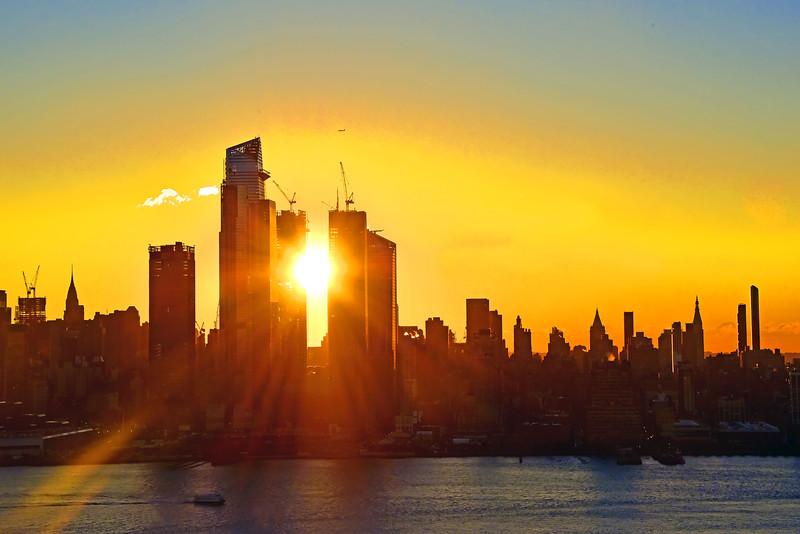 New York Sunstruck City