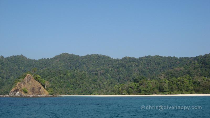 Kyunn Phi Lar Beach, Mergui Archipelago,  Burma