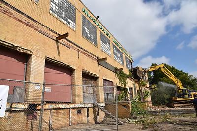 McGarvey Industrial Park Warehouse Demolition-9.28.20